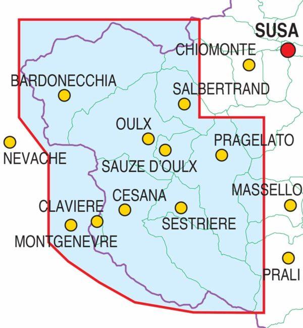 mappe escursionismo fraternali editore Quadro-unione-scialp-Valsusa