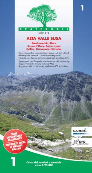 1 mappa escursione alta val di susa 1 25000