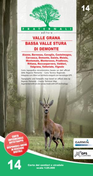 14 mappa-escursionismo Valle-Grana-e-Bassa-Valle-Stura-di-Demonte-fraternali-editore