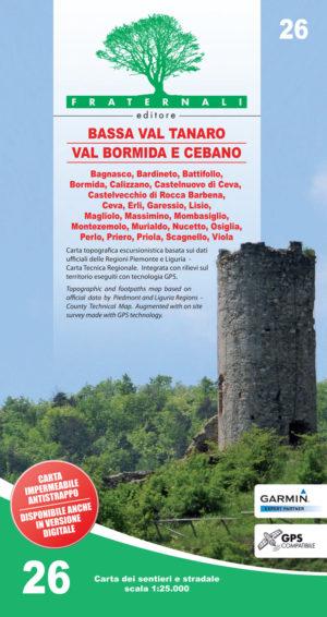 26 mappa-escursionismo-Bassa Val Tanaro - Val Bormida e Cebano-fraternali-editore