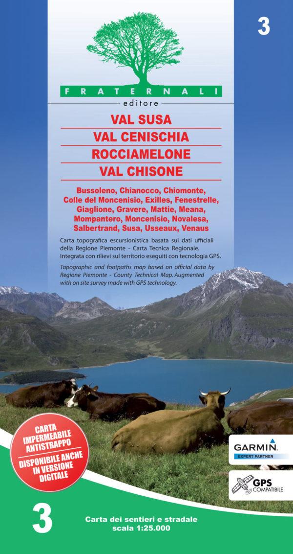 3 mappa-escursionismo-Val-Susa,-Val-Cenischia,-Rocciamelone,-Val-Chisone-fraternali-editore
