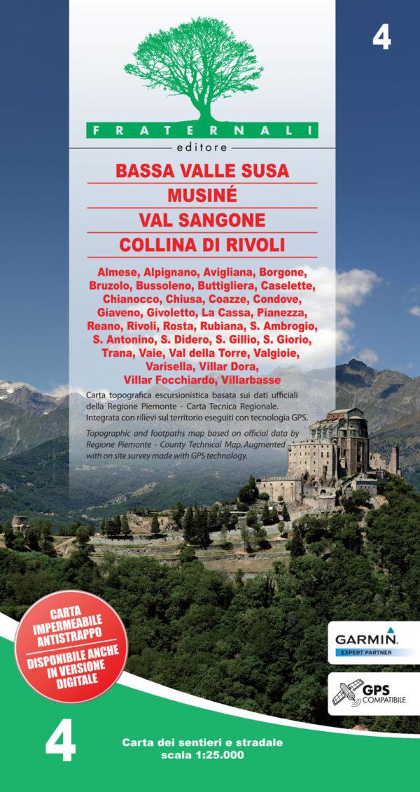 4 mappa-escursionismo-4.-Bassa-Valle-Susa,-Musine-Val-Sangone-Collina-di-Rivoli-fraternali-editore