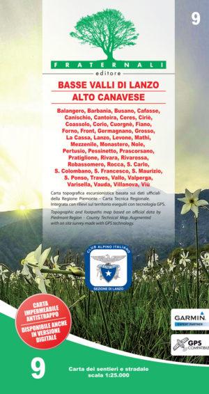 9 mappa-escursionismo-Basse-Valli-di-Lanzo-Alto-Canavese-La-Mandria-Val-Ceronda-e-Casternone-fraternali-editore