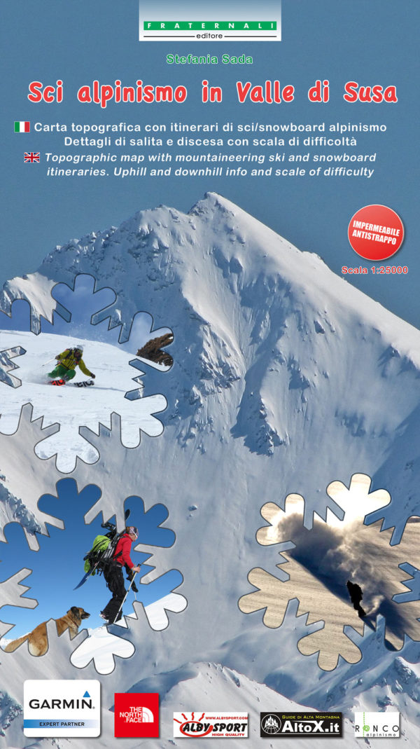 MAPPA Sci Alpinismo in Valle di Susa