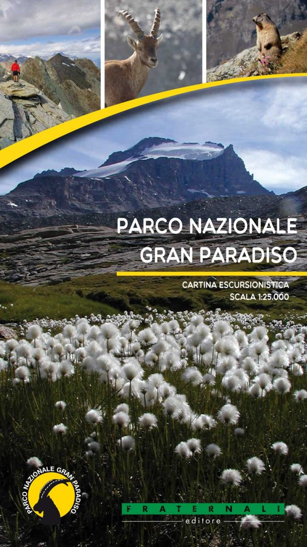 parco nazionale del gran paradiso cartina escursionistica 1 25000