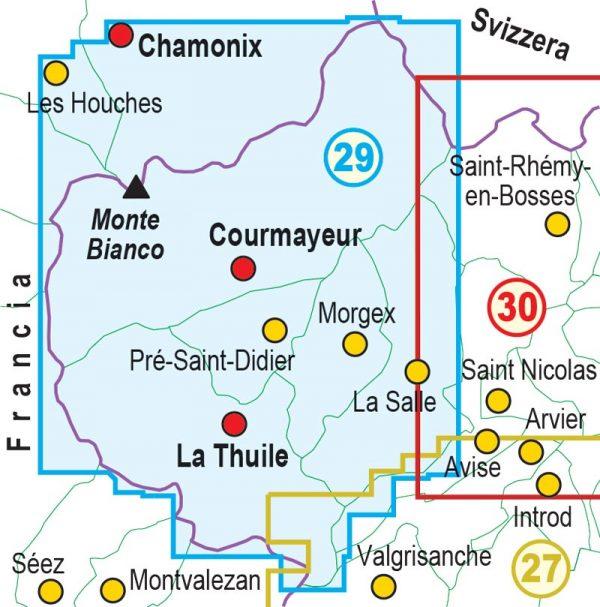 29-QUADRO-UNIONE-mappa-escursionismo-Monte-Bianco,-Courmayeur,-Chamonix,-La-Thuile
