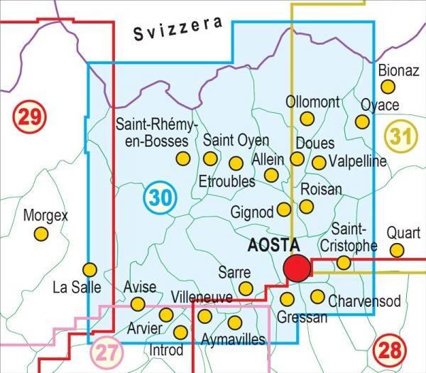 30-QUADRO-UNIONE-mappa-escursionismo-Gran-San-Bernardo,-Valle-di-Ollomont,-Mont-Fallere,-Aosta---Valle-Centrale