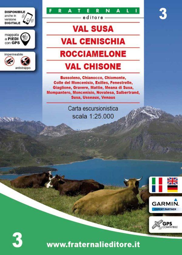 3-mappa-escursionismo-Val-Susa,-Val-Cenischia,-Rocciamelone,-Val-Chisone-fraternali-editore