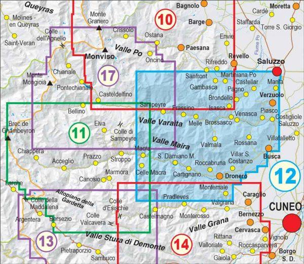 Quadro-unione-12- Bassa Val Varaita, Bassa Val Maira